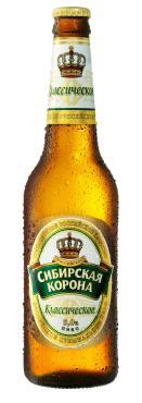Пиво Сибирская корона Светлое Классическое 5%