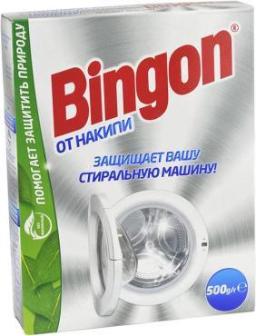 Средство Bingon для защиты стиральной машины от накипи