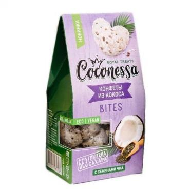 Конфеты Coconessa кокосовые Семена чиа