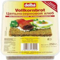 Хлеб Delba Vollkornbrot цельнозерновой