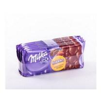 Шоколад Bubbles Молочный пористый, Milka, 80 гр., флоу-пак