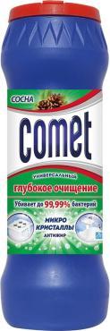 Чистящее средство Comet Двойной эффект Сосна Универсальный