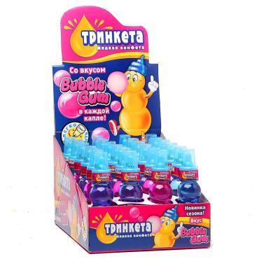 Жидкая карамель Тринкета Bubble Gum