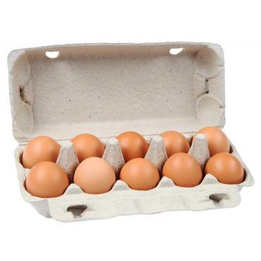 Яйцо куриное Деревенское 1 категории, 10шт