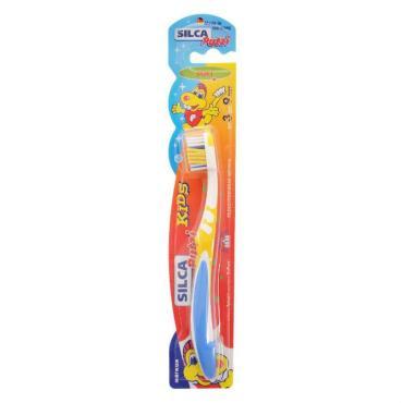 Зубная щетка детская от 3-9 лет, Silca Putzi Kids Soft, блистер