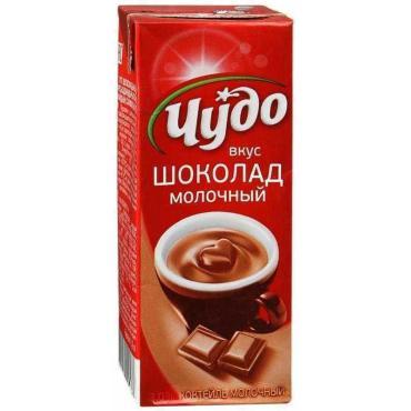 Коктейль Чудо молочный шоколад 3%