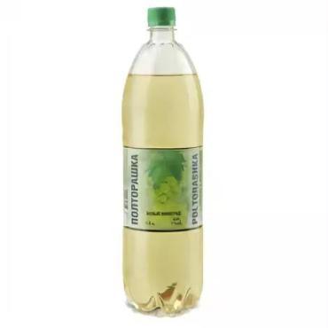 Газированный напиток Полторашка Медовуха со вкусом белого винограда