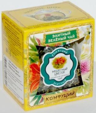 Чай Конфуций Цветущая Лилия листовой