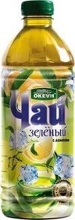 Холодный чай Седьмой Океан зеленый с лимоном