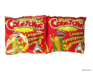 Кукурузные палочки Советские сладкие