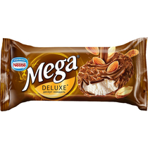Мороженое Mega Deluxe ваниль с миндалем в шоколадной глазури 77 г