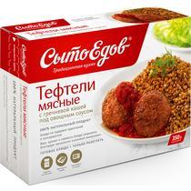 Тефтели мясные с гречкой под овощным соусом, Сытоедов