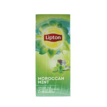 Чай зеленый Lipton Moroccan Mint 25 пакетов