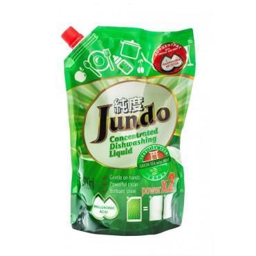 Гель для мытья посуды Jundo Green tea with mint С гиалуроновой кислотой