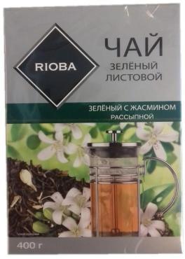 Чай зеленый Rioba С жасмином