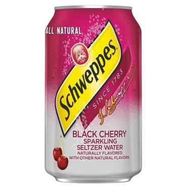 Газированный напиток Schweppes Black Cherry