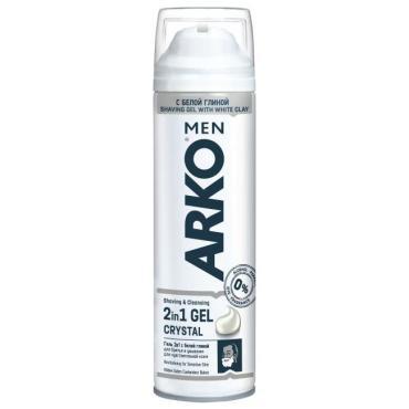 Гель Arko men Crystal 2в1 для бритья и умывания