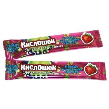 Жевательная конфета Кислошок фруктовая дорожка