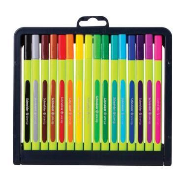 Ручки капиллярные Schneider Line-Up трехгранные, линия письма 0,4 мм, 16 шт