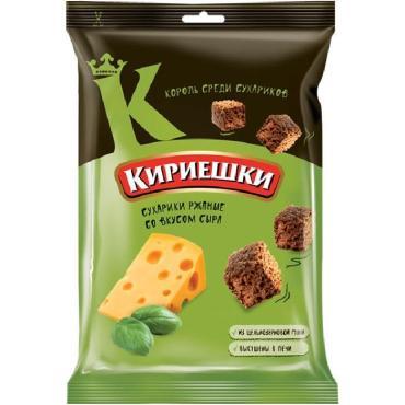 Сухарики Кириешки Сыр