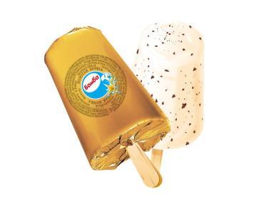 Мороженое Колибри эскимо с шоколадной крошкой Бомба, 80 гр., обертка фольга/бумага