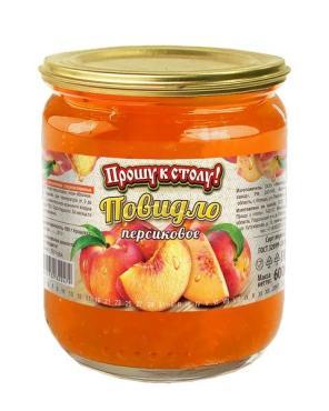 Повидло Прошу к столу персиковое