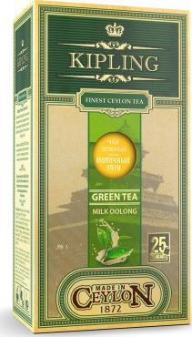 Чай Kipling Milky Oolong Молочный улун зеленый в пакетиках 25 шт.