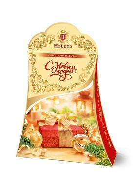 Чай Hyleys Новогодний подарок С бергамотом черный индийский среднелистовой