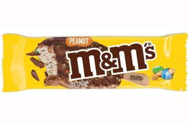 Мороженое эскимо Арахис Mars M&M's, 65 гр., флоу-пак