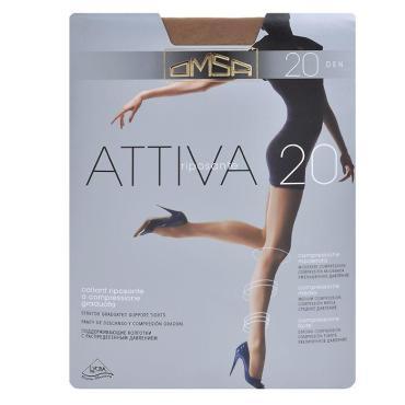 Колготки OMSA Attiva 20 den Caramello размер 3