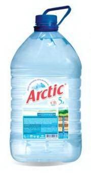 Вода Arctic негазированная,5 л.,ПЭТ