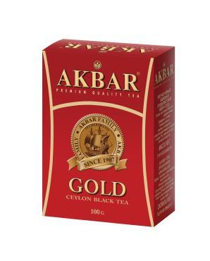 Чай черный Akbar Gold листовой