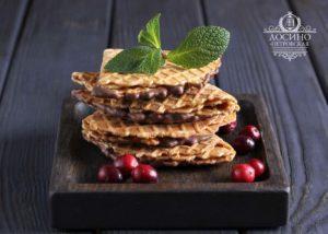 Печенье Лосино-Петровская кондитерская фабрика Тип-Топ с шоколадной глазурью
