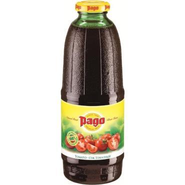 Сок Pago Томатный, 750 мл., стекло