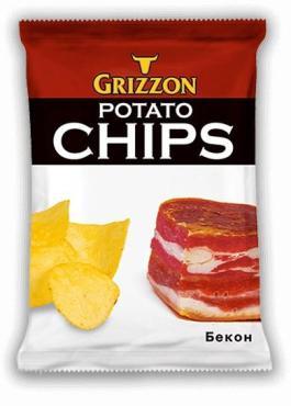 Чипсы картофельные Grizzon с сыром