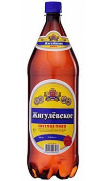 Пиво светлое 4,5 % Жигулевское,1,5 л., ПЭТ
