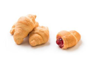 Французский мини-круассан с вишневой начинкой, КФ Баттерфляй, 2 кг., картон