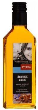 Масло льняное, Русска, 250 гр., стекло