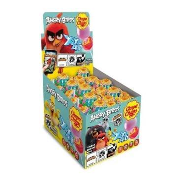 Карамель Chupa Chups XXL 4D Angry Birds на палочке,Chupa Chups, 29 гр, картон