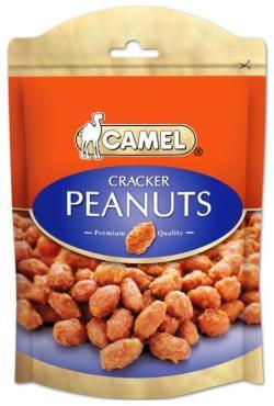 Арахис жареный со специями Cracker Peanuts, Camel, 150 гр., ПЭТ