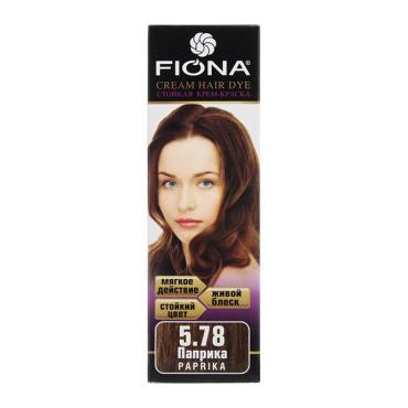Краска для волос Fiona паприка 6578