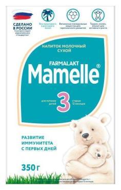 Детское молочко, с 12 месяцев, Mamelle, 350 гр., картонная коробка