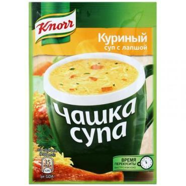 Суп Чашка супа Куриный с лапшой