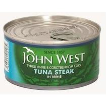 Тунец John West филе в собственном соку