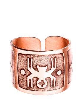 Кольцо Кудесы, 0012 медь, Размер 16-21