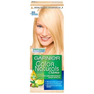 Крем-краска для волос Garnier Color Naturals оттенок E0 супер блонд