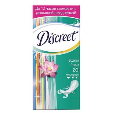 Прокладки ежедневные Discreet Deo Waterlily ультратонкие 20шт.