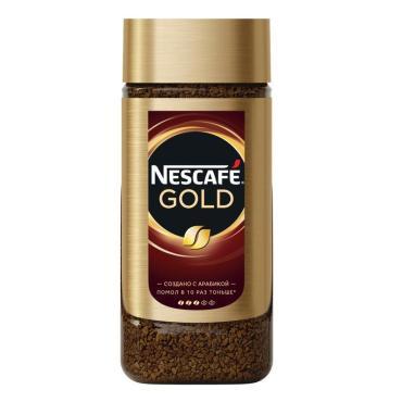 Кофе Gold растворимый сублимированный, Nescafe, 95 гр., стекло