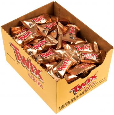 Шоколадный батончик Twix minis