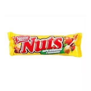 Батончик Nuts Ореховый тюнинг шоколадный